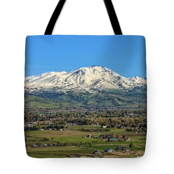 Tote Bag featuring the photograph Late Spring On Squaw Butte by Robert Bales