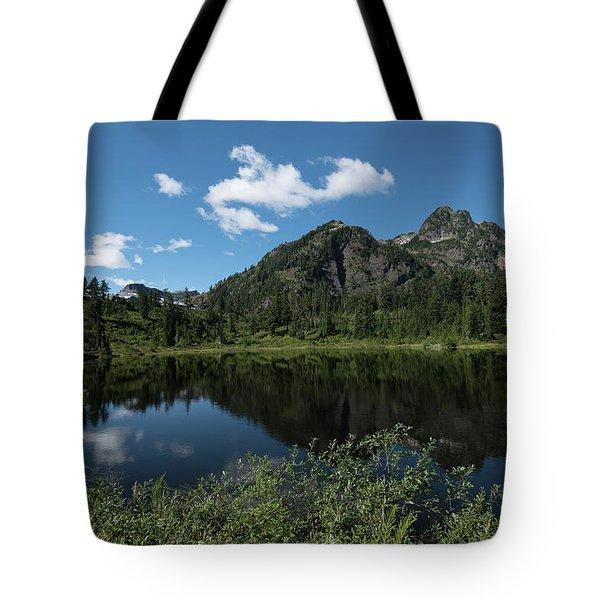 Late Spring Peaks Tote Bag