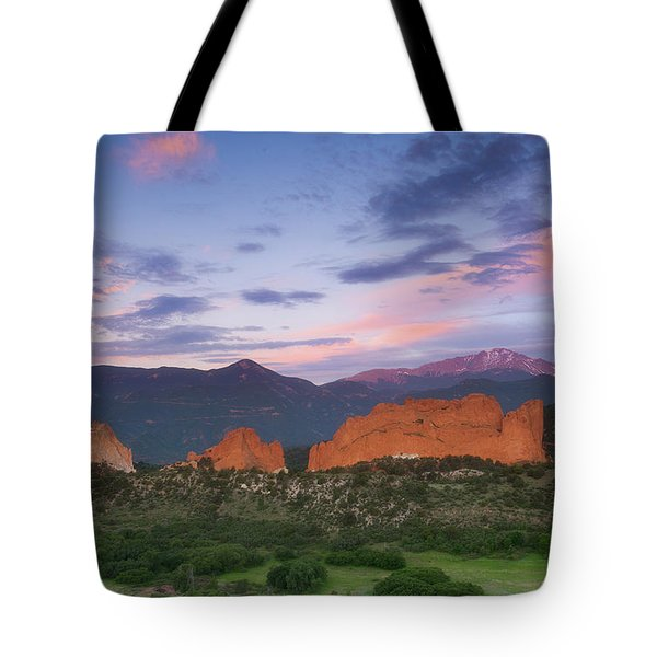 Late Spring Sunrise Tote Bag