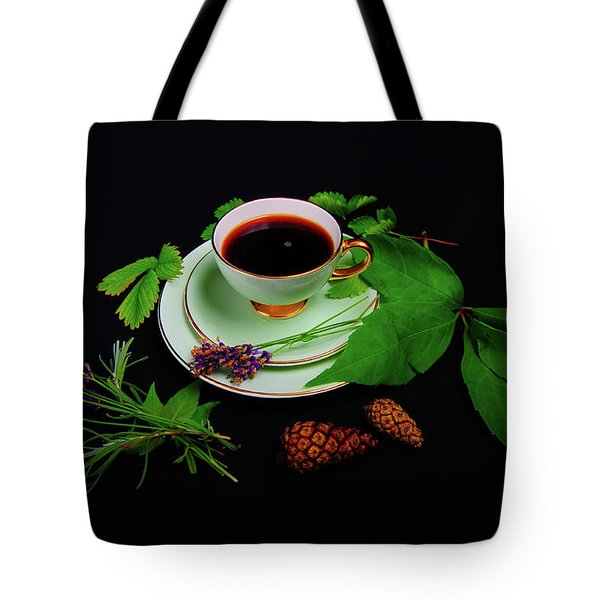 Late Summer Coffee Tote Bag
