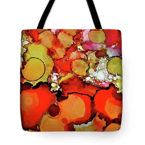 Late Summer Flowers Tote Bag
