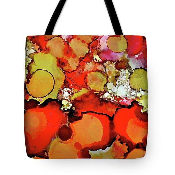 Late Summer Flowers Tote Bag