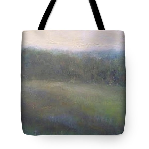 Late Summer Landscape Tote Bag