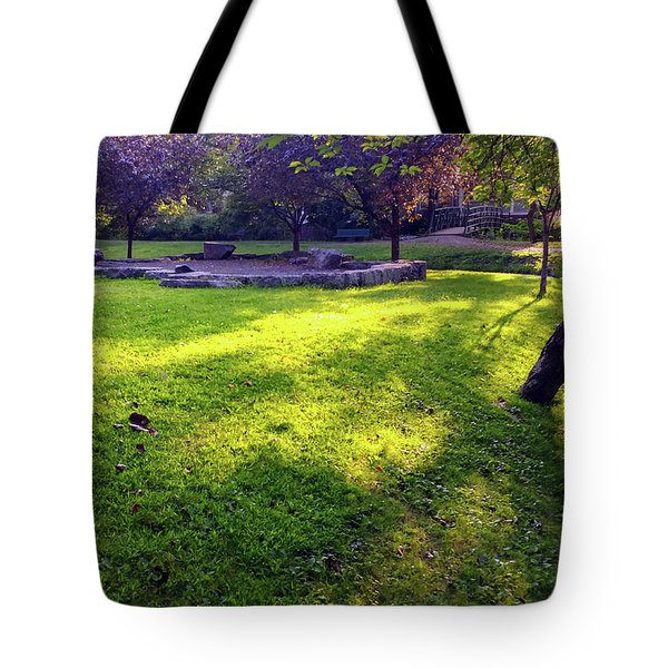 Late Summer Light Tote Bag