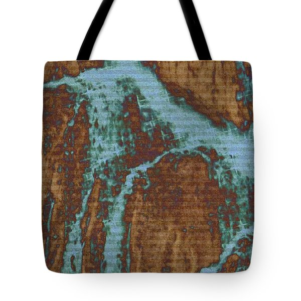 Tote Bag featuring the digital art Late Summer by Robin Regan