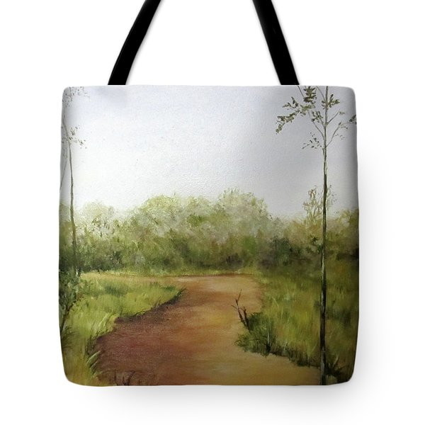 Late Summer Walk Tote Bag by Roseann Gilmore