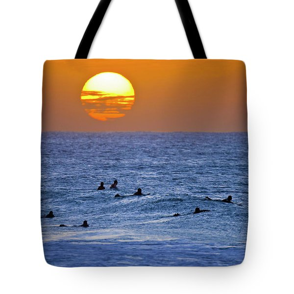 Late Surf Tote Bag