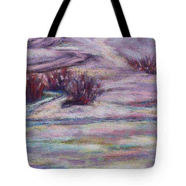 Late Winter Light Tote Bag