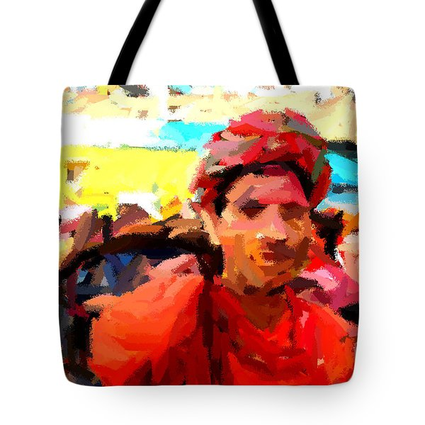 Lathmaar Holi Of Barsana-1 Tote Bag