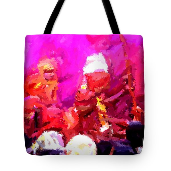 Lathmaar Holi Of Barsana-3 Tote Bag