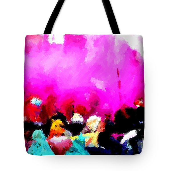 Lathmaar Holi Of Barsana-5 Tote Bag