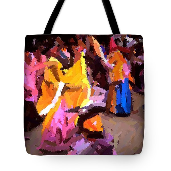 Lathmaar Holi Of Barsana-6 Tote Bag