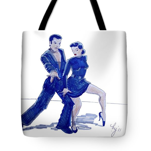 Latin Ballroom Tote Bag