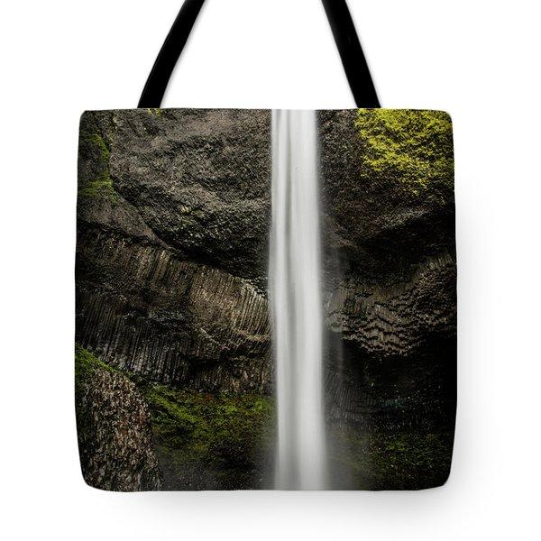 Latourell Falls Tote Bag by Joe Hudspeth