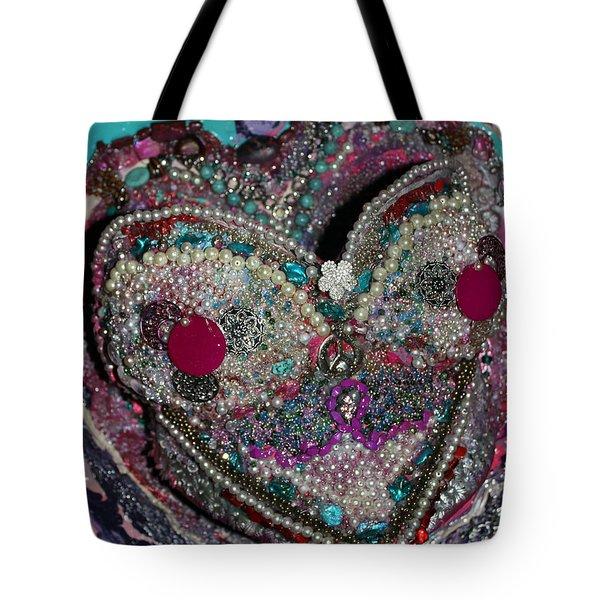 Latrease - My Angel And Heart Imani, Survivor  Tote Bag