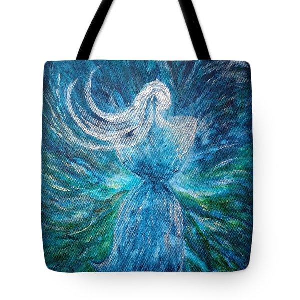 Latte Stone Woman Tote Bag