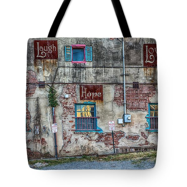 Laugh Love Hope Tote Bag