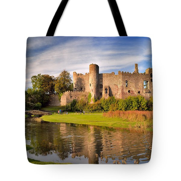 Laugharne Castle 1 Tote Bag