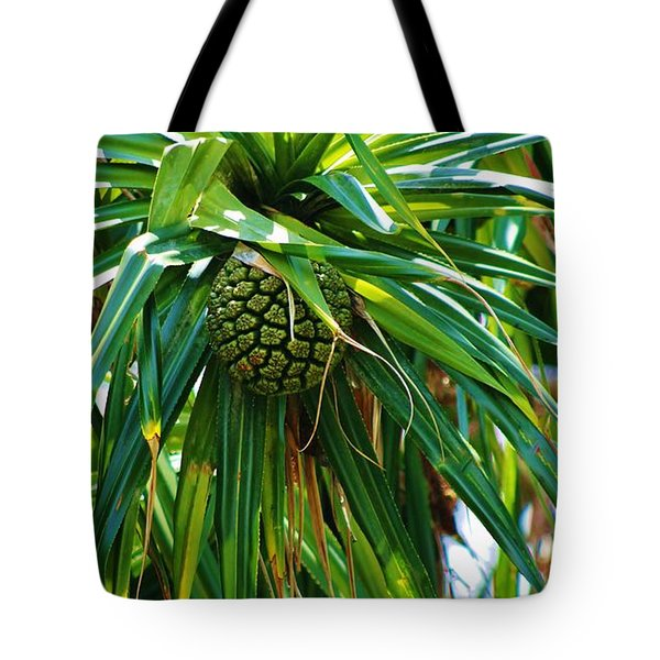 Tote Bag featuring the photograph Lauhala Fruit  by Craig Wood