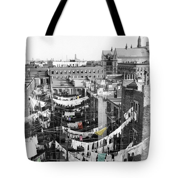 Laundry Day Tote Bag by Andrew Fare