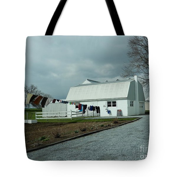 Laundry Day - Two Tote Bag