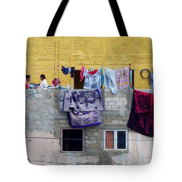 Laundry In Guanajuato Tote Bag