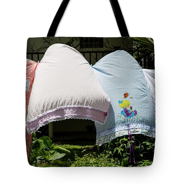 Laundry In The Wind Tote Bag