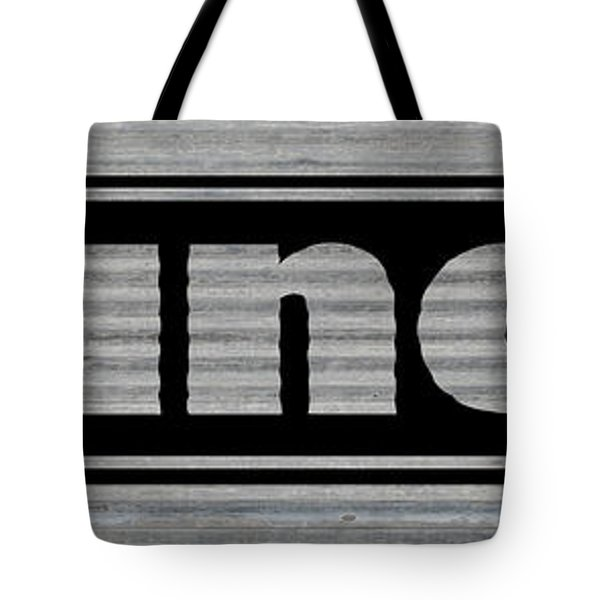 Laundry On Metal Tote Bag
