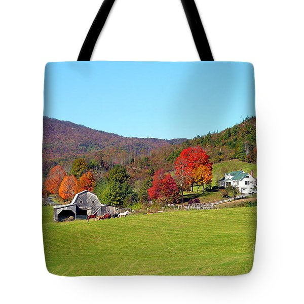Laura's Farm Tote Bag