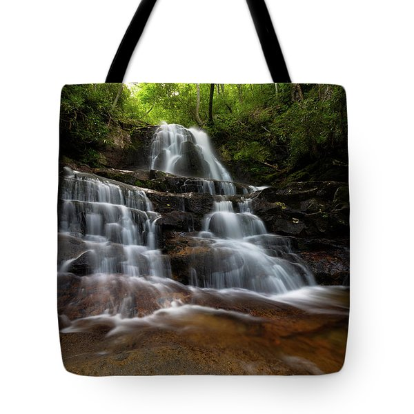 Laurel Falls Great Smoky Mountains Tennessee Tote Bag