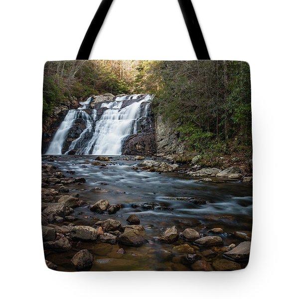 Laurel Falls In Autumn #1 Tote Bag
