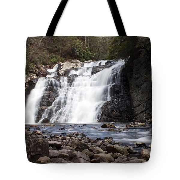 Laurel Falls In Spring #1 Tote Bag by Jeff Severson