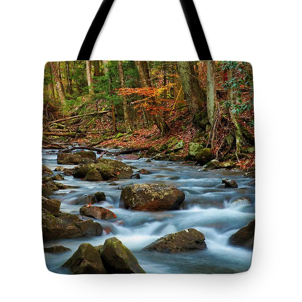 Laurel Fork In The Fall Tote Bag