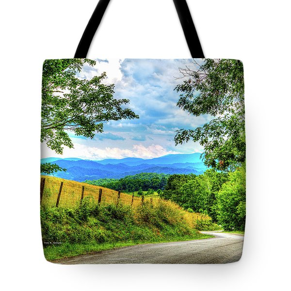 Laurel Hill View Tote Bag by Dale R Carlson