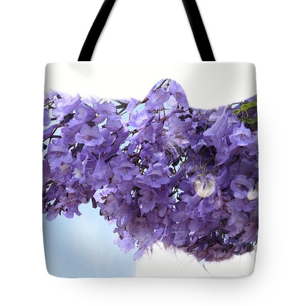 Laurel Kitty Tote Bag