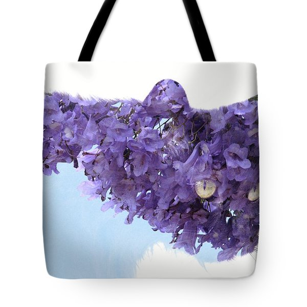 Laurel Tree In Cat Tote Bag