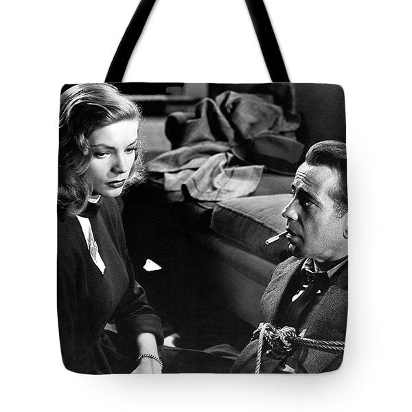 Lauren Bacall Humphrey Bogart Film Noir Classic The Big Sleep 1 1945-2015 Tote Bag