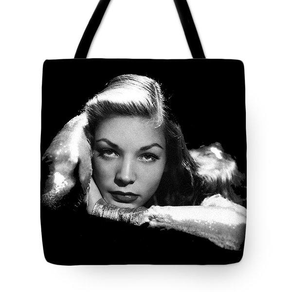 Lauren Bacall Publicity Photo Circa 1945-2015 Tote Bag