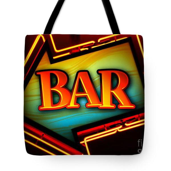 Laurettes Bar Tote Bag