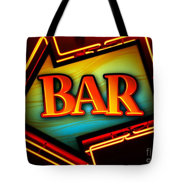 Laurettes Bar Tote Bag