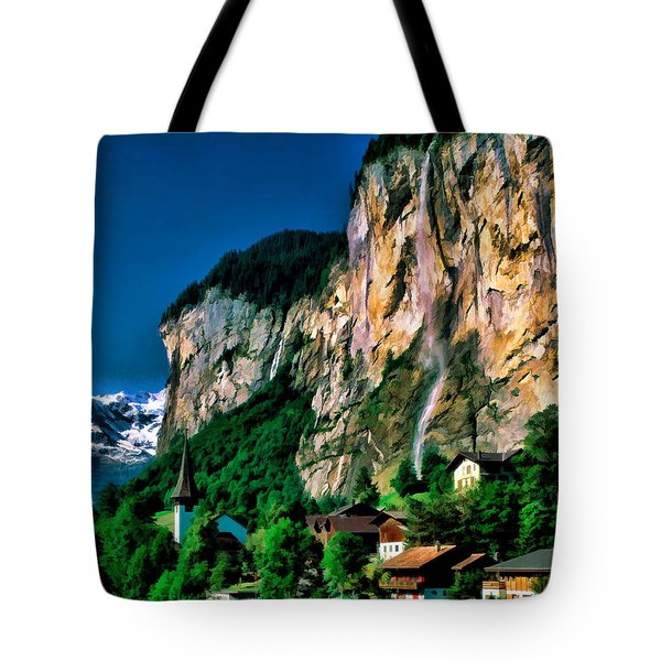 Lauterbrunnen Tote Bag