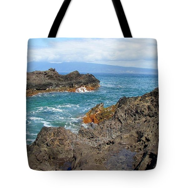 Lava Coastline - West Maui Tote Bag
