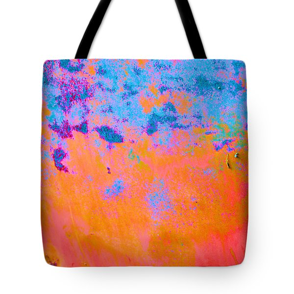 Lava Explosion Tote Bag by Jan Amiss Photography