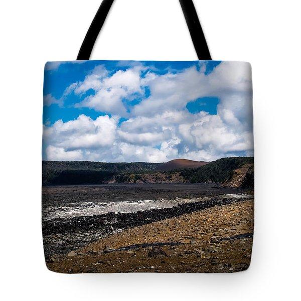 Lava Field Tote Bag