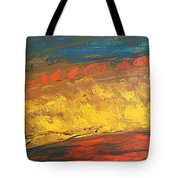 Lava Flow Tote Bag