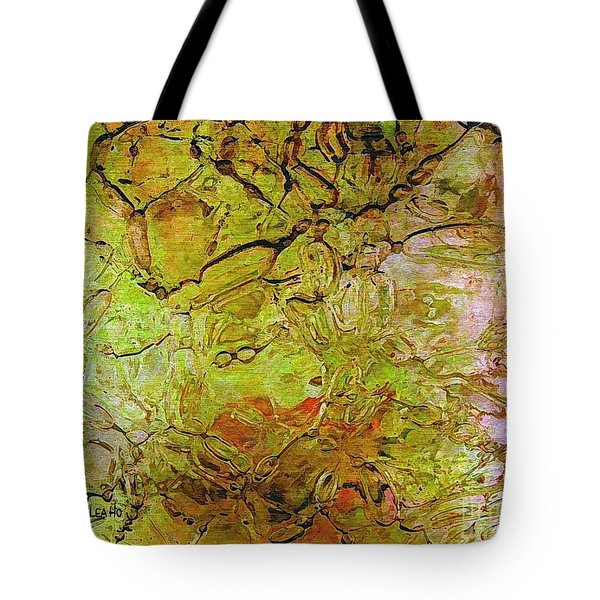 Lava Glass Tote Bag