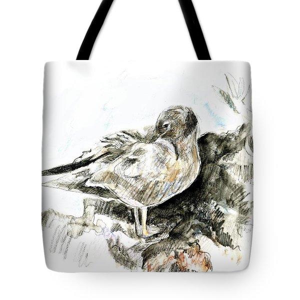 Lava Gull Tote Bag