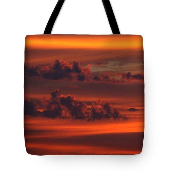 Lava Islands Tote Bag