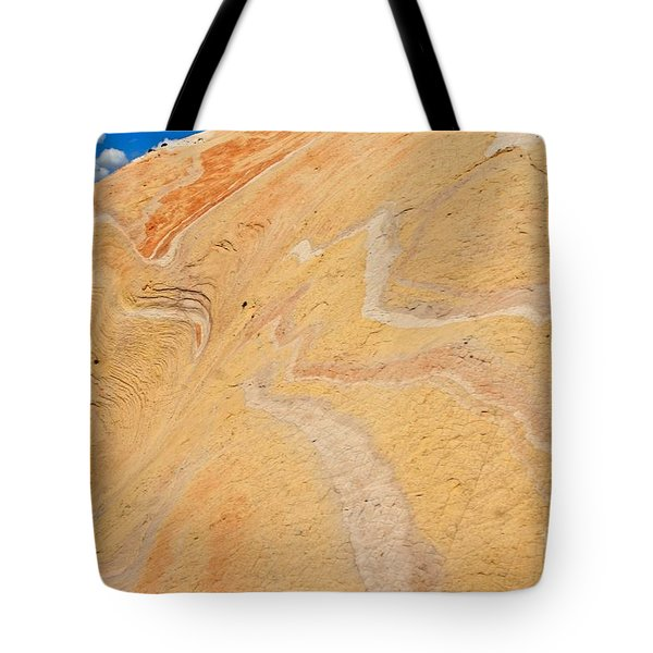 Lava Look Tote Bag