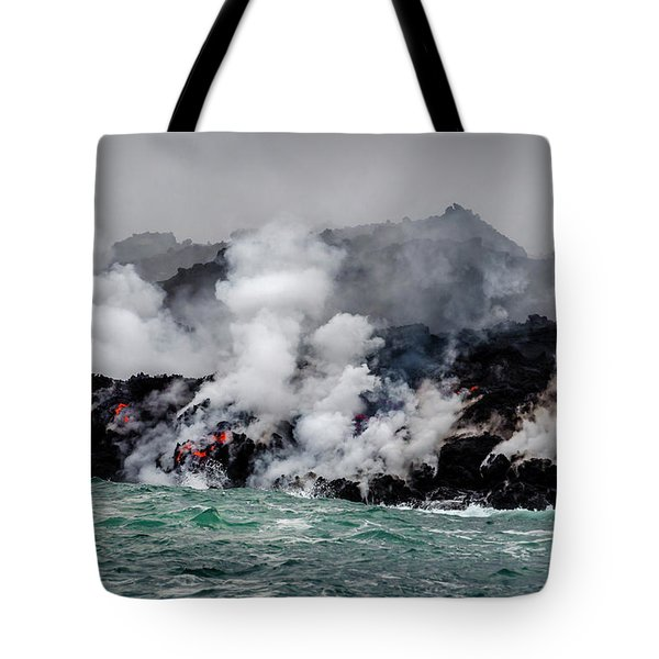 Lava Shelf Tote Bag